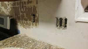 Acrylpro Ceramic Tile Adhesive Cleanup by How To Repair Drywall After Removing Tile Prepare For Tiling