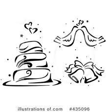 Wedding Cake clipart symbol 8