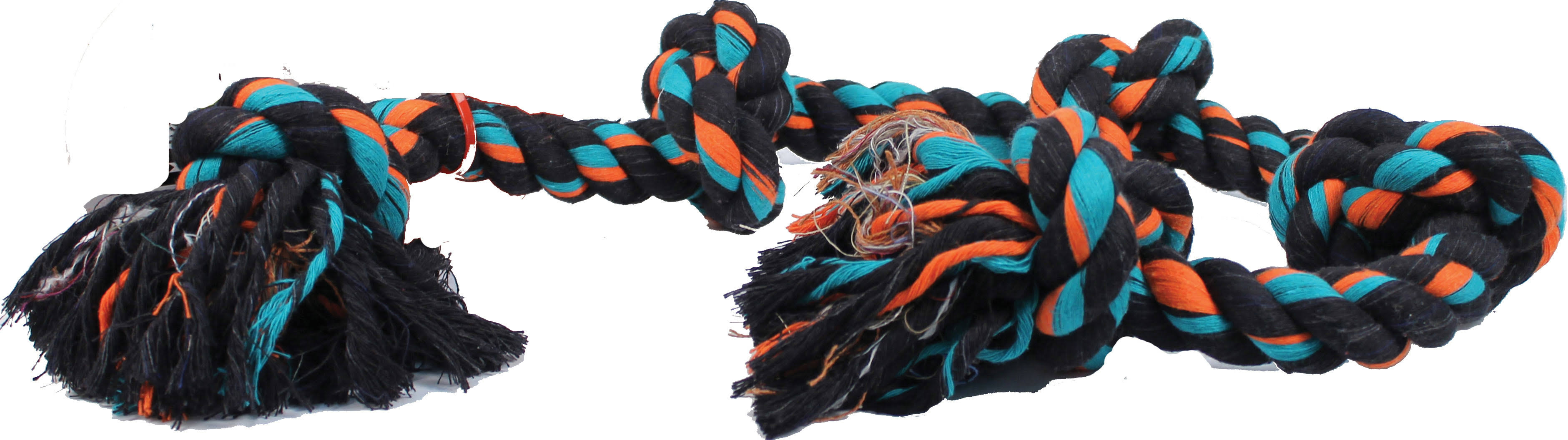 Mammoth Flossy Chews 5-Knot Tug Rope Toy - XL