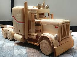 Peterbilt 379 | Home Decoration | Wooden Toy Trucks, Wooden Truck ...