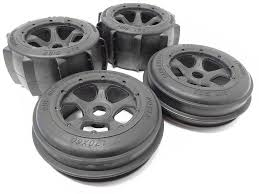 100 Sand Tires For Trucks 15 Scale Baja Buggy And Paddle Tire Wheels On 5Spoke Rims