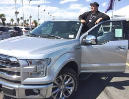 Friendly Ford Salesman Points Out Features Of F-150 – Las Vegas ...