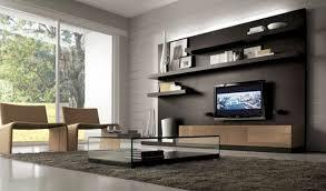 Living Room Awesome Grey Wood Modern Design Elegant Wall Units