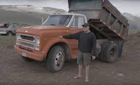 Roadkill Talks Up 1969 Chevy C50 Dump Truck & Its Odd Big Block ...