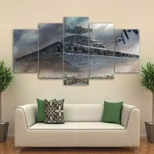xlst hd 5 stück leinwand kunst gedruckt wars malerei wohnzimmer wand kunst leinwand poster bild
