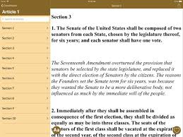 Constitution of the U S A on the App Store