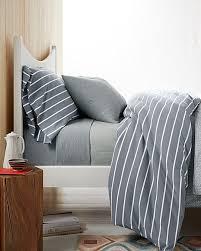 Classic Stripe Jersey Knit Bedding