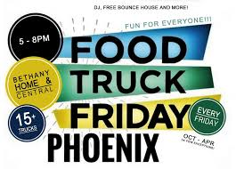 100 Food Trucks In Phoenix Truck Friday 1116 North Baptist Church