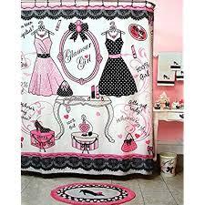 Girly Bathroom Accessories Sets by Girly Bathroom Set Amazon Com