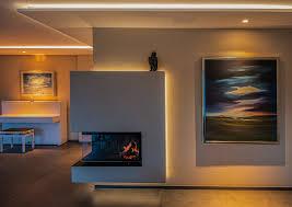 mit feuer licht indirekte beleuchtung im wohnzimmer homify