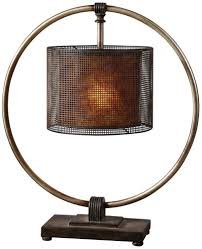 Lamp Shades Bed Bath And Beyond by Uttermost 27649 1 Dalou Lamp Table Lamps Amazon Com