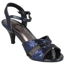 ladies anne michelle glitter evening shoes ebay