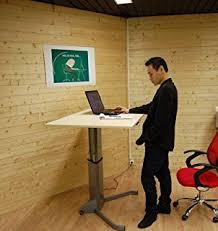 bureau assis debout electrique bureau c k assis debout amazon fr fournitures de bureau