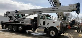 100 Ton Truck Manitex 50128S 50ton Boom On Peterbilt For Sale S Cranes