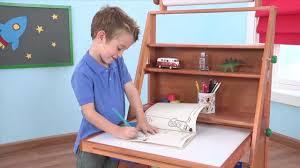 Art Easel Desk Kids Art by Wooden Easel Desk Item 62033 Youtube
