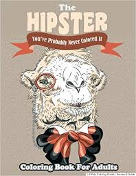 Hipster Image The Coloring Book