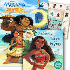 Amazoncom Disney Moana Coloring Stickers Activity Books Toys