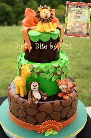 Jungle Baby Shower Cake Prettier Jungle Baby Shower Cakes For Boys