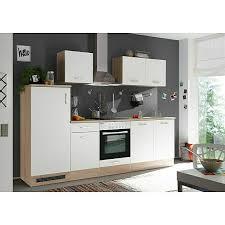 respekta küchenzeile kb270enwpc breite 270 cm mit