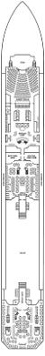 Carnival Splendor Panorama Deck Plan by Carnival Splendor Deck Plans