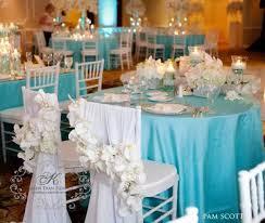 décoration de mariage bleu turquoise blue weddings
