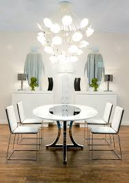 Side Table Definition Dining Room Contemporary With Wall Art White Mirrors