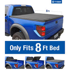 Tri-Fold Soft Tonneau Cover For 2015-2019 Ford F-150 | Styleside 8' Bed