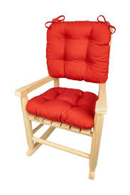 Child Rocking Chair Cushions - Cotton Duck Flame Red - Made In USA -  Machine Washable Diy Outdoor Fniture Rocker W Shou Sugi Ban Beginner Project Craftatoz Classic Rocking Chair Walnut Wooden Royal Wood Living Room Home Garden Lounge Size Length 41 Inches Width Tadeo Quandro Style Amazoncom Priya Patio Handcrafted Chairs Vermont Woods Studios Charleston Cracker Barrel Sheesham Thonet Porch W Cushion The 7 Best Of 2019 Famous For His Sam Maloof Made That
