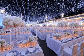 Id Go For Lots Of Sparkle Vintage Glamour And Massive Centrepieces