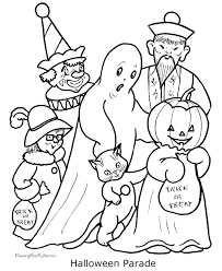 Printable Halloween Coloring Pictures