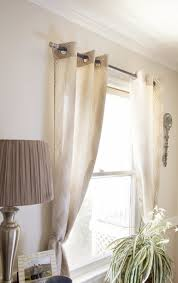 No Drill Curtain Rods Home Depot by Curtain Rods At Home Depot Eyelet Curtain Curtain Ideas