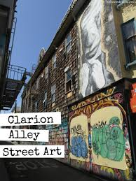 Clarion Alley Mural Project Address by San Francisco Gold Clarion Alley Street Art In Love With The World