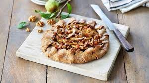 This Crostata Is A Rustic Version Of Apple Pie With Crunchy California Walnuts