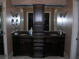 Double Sink Vanity With Dressing Table by Double Bathroom Vanity With Makeup Area Bathroom Decoration