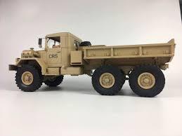 100 Rc Military Trucks CrossRC HC6 Off Road Truck Kit 112 Scale 6x4