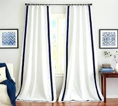 Dkny Curtain Panels Uk by White Curtain Panels Arends Solid Blackout Thermal Grommet Curtain