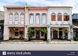 100 Houses In Phuket SinoPortuguese Shophouses In Old Town