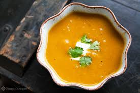 Pumpkin Butternut Squash Soup Vegan by Curried Butternut Squash Soup Recipe Simplyrecipes Com