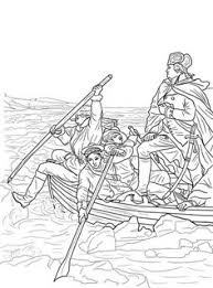 George Washington Crossing The Delaware Coloring Page From Category Select 24848 Printable