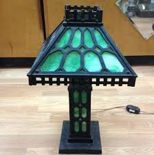 Ebay Antique Table Lamps by 118 Best Slag Lamps Images On Pinterest Glass Lamps Antique