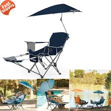 Sport Brella Chair With Umbrella by Camping Chair With Footrest And Umbrella Best Chair Decoration