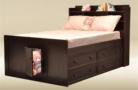 Jackson Extra Long Twin Captains Bed with Drawers