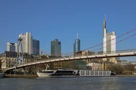 100 Water Bridge Germany FileFrankfurt Skyline With River Main Bridge