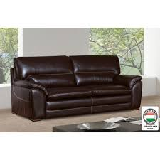 épaisseur cuir canapé florence canapé droit fixe en cuir 3 places 195x85x88 cm