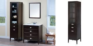 Bathroom Linen Tower Espresso by Bathroom Ladder Linen Tower Custom Bathroom Storage Cabinets