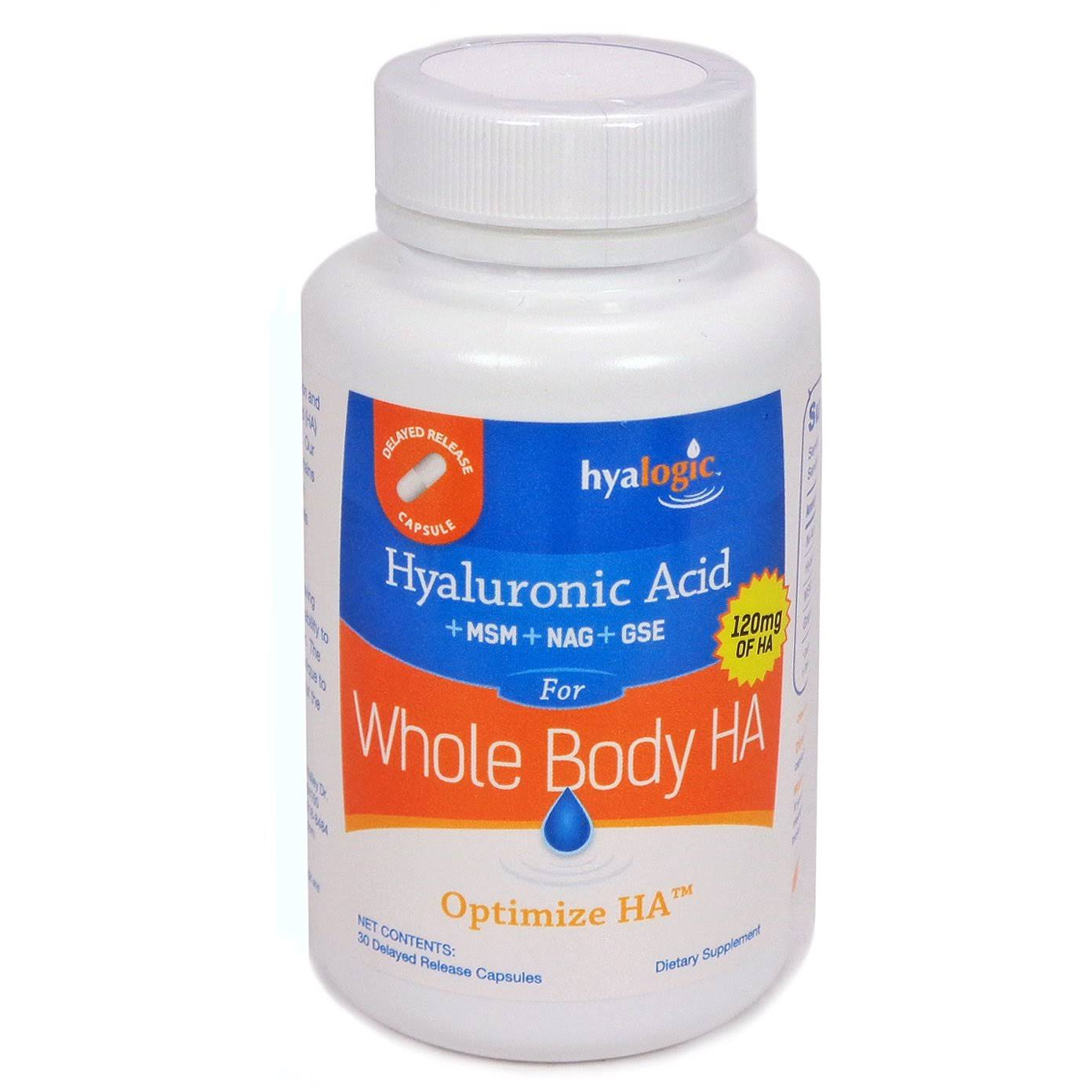 Hyalogic Whole Body Ha 30 Capsules