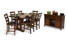 enormous counter 8 piece dining set bob s discount furniture