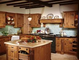 Rustic Style Kitchen Decor