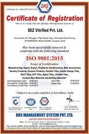 company profile sez vitrified pvt ltd