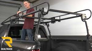 How To Install Buyers Truck Rack - YouTube